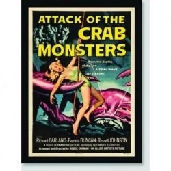 Quadro Poster Filme Crab Monsters