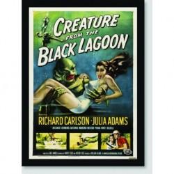 Quadro Poster Filme Creature Black Lagoon