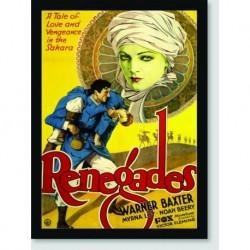 Quadro Poster Filme Renegades