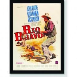 Quadro Poster Filme Rio Bravo