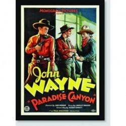 Quadro Poster Filme Paradise Canyon