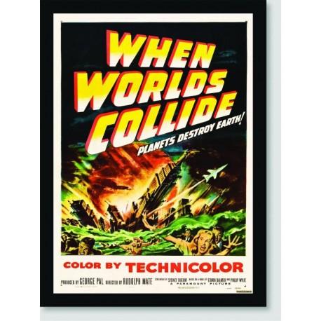 Quadro Poster Filme When Worlds Collide