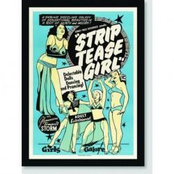 Quadro Poster Filme Striptease Girl