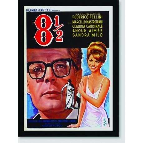 Quadro Poster Filme 8 1/2 Fellini 01
