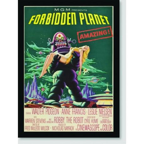 Quadro Poster Filme Forbidden Planet