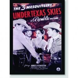 Quadro Poster Filme Under Texas Skies