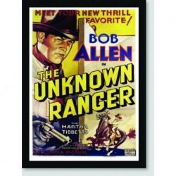 Quadro Poster Filme The Unknown Ranger