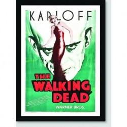Quadro Poster Filme The Walking Dead