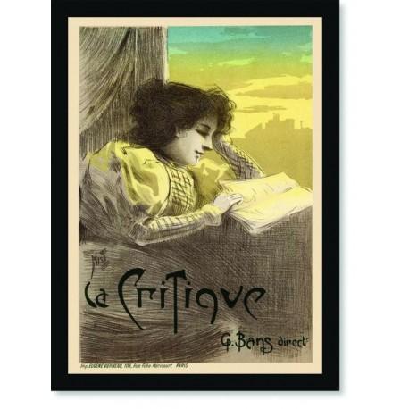 Quadro Poster The Belle Epoque La Critique