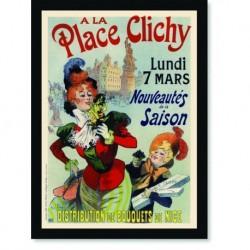 Quadro Poster The Belle Epoque Place Clichy