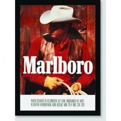 Quadro Poster Propaganda Marlboro Cowboy