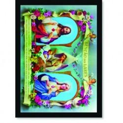 Quadro Poster Catolico Benção dos Lares