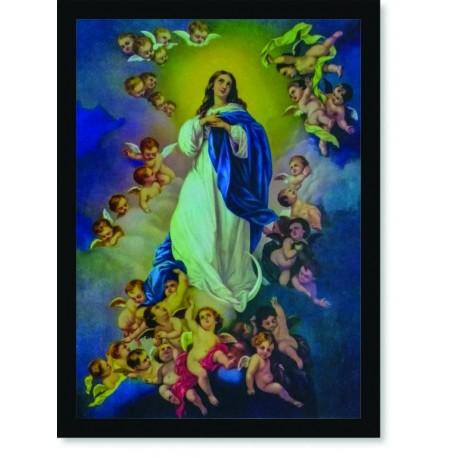 Quadro Poster Catolico Imaculada Conceição
