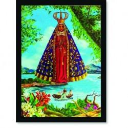 Quadro Poster Catolico Nossa Senhora Aparecida