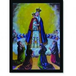 Quadro Poster Catolico Nossa Senhora Bom Parto