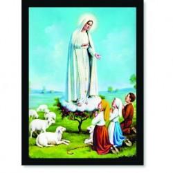 Quadro Poster Catolico Nossa Senhora de Fátima