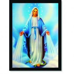 Quadro Poster Catolico Nossa Senhora das Graças