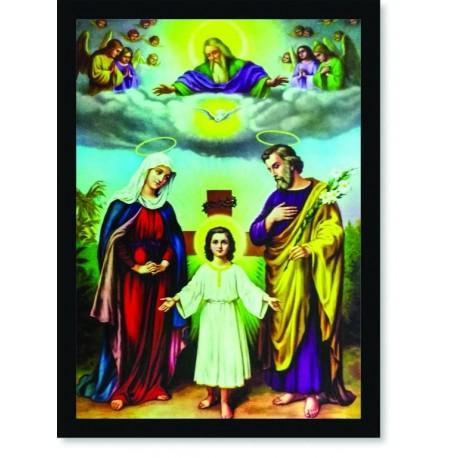 Quadro Poster Catolico Sagrada Família