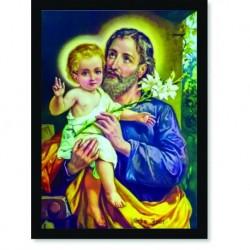Quadro Poster Catolico São José