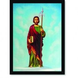Quadro Poster Catolico São Judas Tadeu