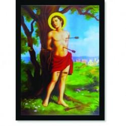 Quadro Poster Catolico São Sebastião