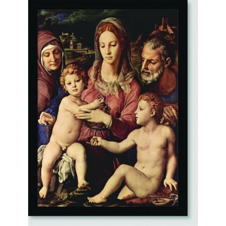 Quadro Poster Espiritual Angelo Bronzino