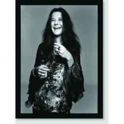 Quadro Poster Personalidades Janes Joplin 1