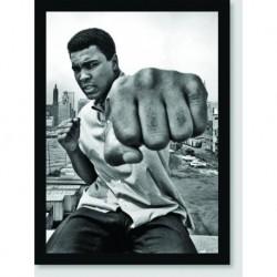 Quadro Poster Personalidades Muhammad Ali 1