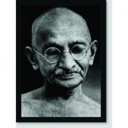 Quadro Poster Personalidades Mahatma Gandhi 1