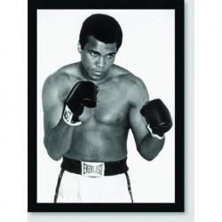 Quadro Poster Personalidades Muhammad Ali 2