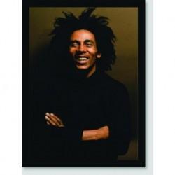 Quadro Poster Personalidades Bob Marley