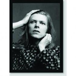 Quadro Poster Personalidades David Bowie