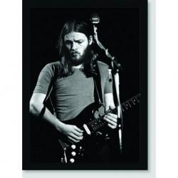 Quadro Poster Personalidades David Gilmour