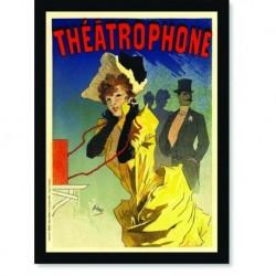 Quadro Poster The Belle Epoque Theatrophone
