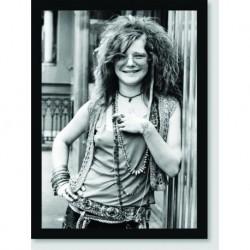 Quadro Poster Personalidades Janes Joplin 2