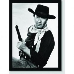 Quadro Poster Personalidades John Wayne