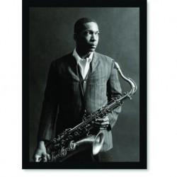 Quadro Poster Grandes Nomes da Musica John Coltrane 01