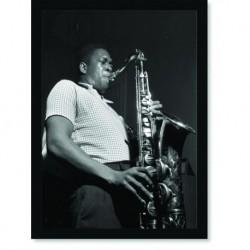 Quadro Poster Grandes Nomes da Musica John Coltrane 02