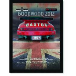 Quadro Poster Porsche Goodwood 2012