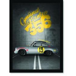 Quadro Poster Porsche 356 13