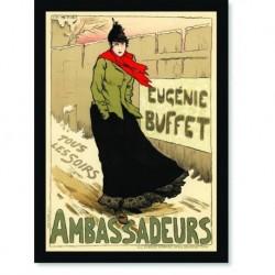 Quadro Poster The Belle Epoque Ambassadeurs