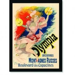 Quadro Poster The Belle Epoque Olympia