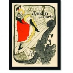 Quadro Poster The Belle Epoque Jane Avril