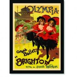 Quadro Poster The Belle Epoque Brighton