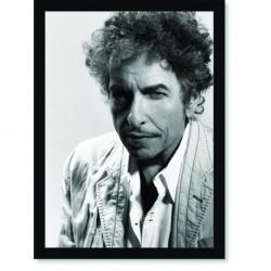 Quadro Poster Grandes Nomes da Música Bob Dylan