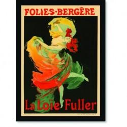 Quadro Poster The Belle Epoque La Loie Fuller