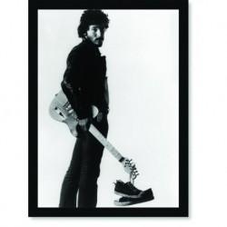 Quadro Poster Grandes Nomes da Música Bruce Springesteen