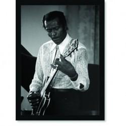 Quadro Poster Grandes Nomes da Música Chuck Berry