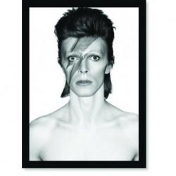 Quadro Poster Grandes Nomes da Música David Bowie