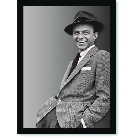 Quadro Poster Grandes Nomes da Música Frank Sinatra 1